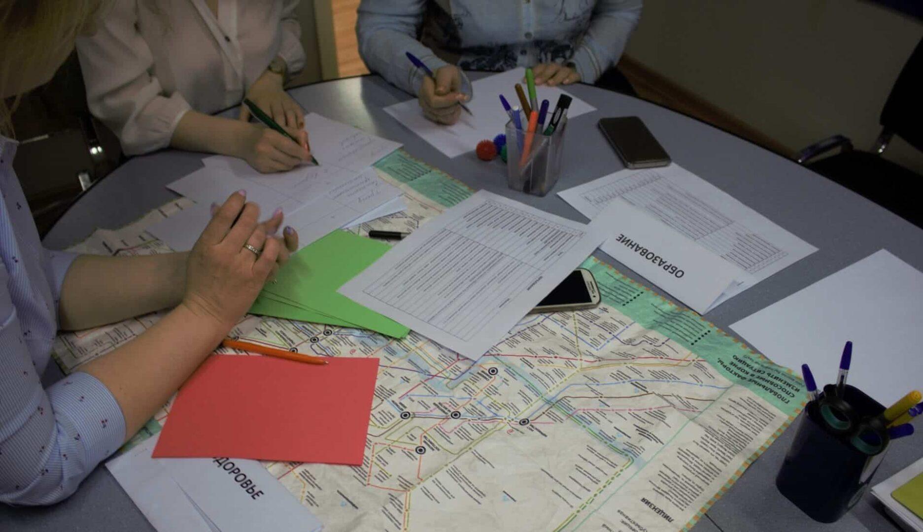 Стратегическая сессия для руководителей. Работа с картами трендов